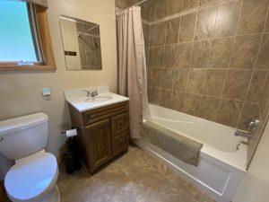Cottage #1 bathroom