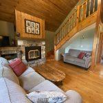 Cottage #1 living room