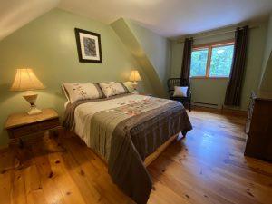 Cottage #1 upstairs bedroom